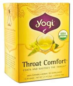 (YOGI TEA,OG2,THROAT COMFORT, 16 BAG)