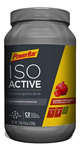 (PowerBar IsoActive Sports Drink with 5 Electrolytes and C2MAX Dual Source Carb Mix (40 Servings), Raspberry Pomegranate)