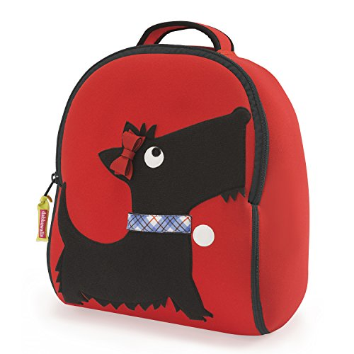 Dabbawalla Bags Toddler Backpack Scottie Dog (Scottish Wind Chimes Terrier)