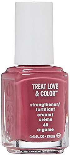 essie Treat Love & Color Strengthener for Normal To Dry/Brittle Nails, A-Game