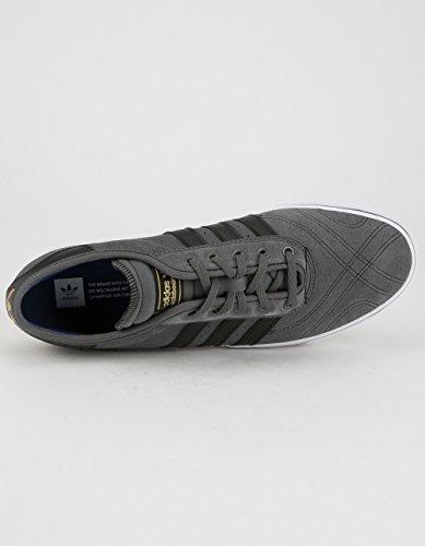 Adidas Original Mens Adi-lätthet Premiere Mode Gymnastiksko Grå Fem / Core Svart / Skodon Vit