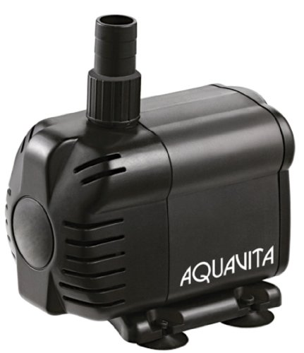 AquaV 238 GPH Submersible and In-line Water Pump With Filter - Use Inside or Outside Tank - UL Listed - 4.1 FT In Line Water Pumps