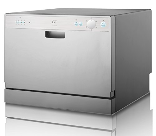 "SPT 22"" Countertop Dishwasher Silver SD-2202S"