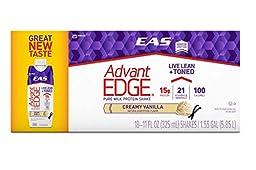 EAS AdvantEdge Carb Control Ready-to-Drink Shake, French Vanilla (18 Shakes)