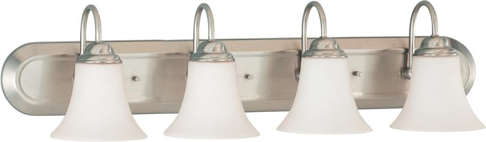 Nuvo Lighting 60/1835 Four Light Vanity Brushed Nickel