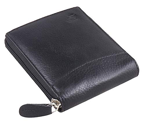 mtuggar RFID Protected Leather Men's Wallet  Black
