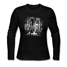 LYLIN-C Women's Justin Bieber Purpose 2015 Tee Shirt Black