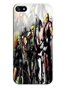 Case mate glam texture tpu phone case for iphone5/5s(Street Fighter Iv) Fashion E-Mall