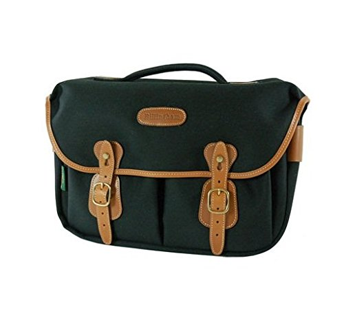 - Billingham Hadley Pro Shoulder Bag (Black with Tan Leather Trim)
