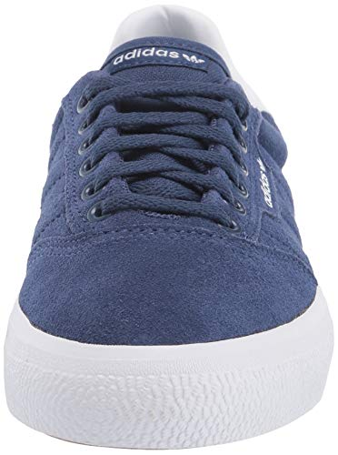 adidas Originals Men's 3MC Regular Fit Lifestyle Skate Inspired Sneakers Shoes, Tech indigo/ftwr White/Gum, 5.5 M US