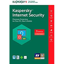Kaspersky Internet Security 2017 | 3 Device | 1 Year | Download [Online Code]