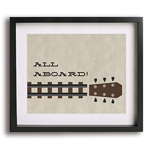 (Crazy Train | Ozzy Osbourne inspired song lyric art print)