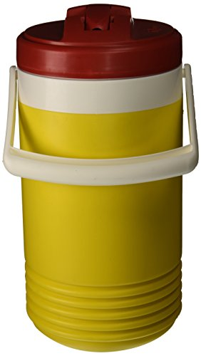 Igloo 385-41814 Legend Commercial Cooler, 1 gal, Yellow/Red ()