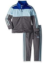 adidas - Conjunto de chaqueta y pantalón para niño