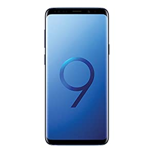 "Samsung Galaxy S9 Plus (6.2"", Dual SIM) 64GB SM-G965F/DS Factory Unlocked LTE Smartphone (Coral Blue) - International Version"