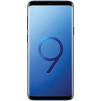 "Samsung Galaxy S9 Plus (6.2"", Dual SIM) 64GB SM-G965F/DS Factory Unlocked LTE Smartphone (Coral Blue) - International Version"