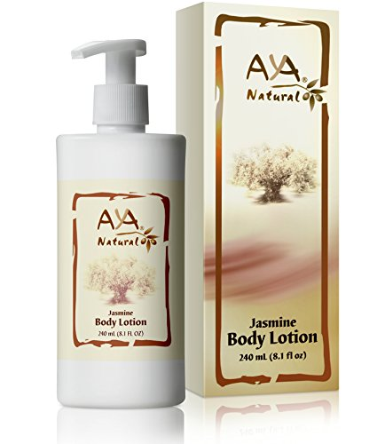 All Natural Body Lotion for Dry Skin - Vegan Anti Aging Moisturizer Skincare Cream Anti Itch Firming Skin Tightening Body Lotion with Jasmine Scent