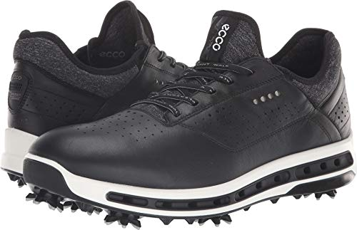 ECCO Men's Cool 18 Gore-tex Golf Shoe, Black, 10 M US