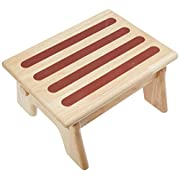 My Brest Friend Nursing Stool Adjustable For Comfort, Wood