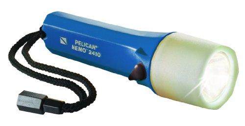 - Pelican Nemo 2410N Dive Flashlight (Blue)