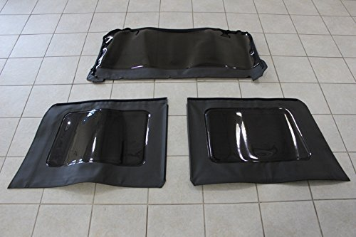 Jeep Wrangler 4 Door Soft Top Tinted Window Kit Set Of 3 Mopar OEM
