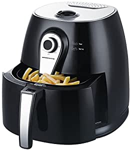 Ovente 3.2 QT Multi-function Air Fryer, 1400W with FREE Fry/Grill Pan (FAM21302B)