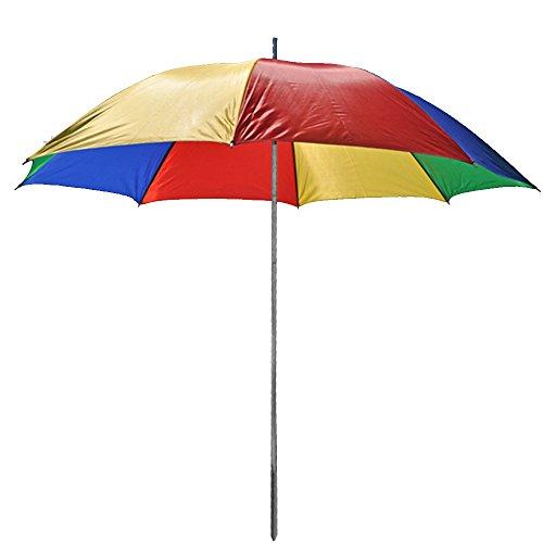 JEMIDI Sonnenschirm 130cm Durchmesser Strand Schirm Sonnenschirm Sonnenschutz tragbar