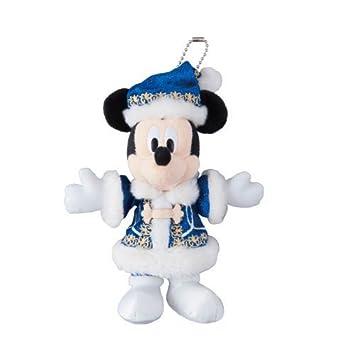 Mickey Mouse insignia juguete de peluche de Disney de Navidad 2014 [Tokio Disney Sea Limited