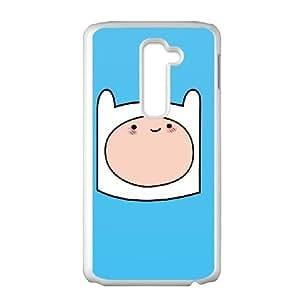 LG G2 Cell Phone Case White Finn The Human PEK Back Custom Case