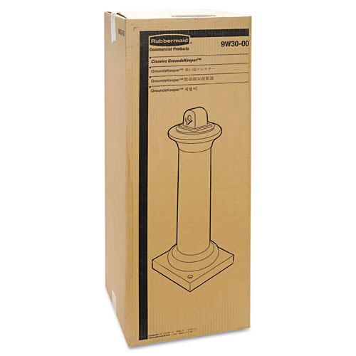 RCP9W300BLA - GroundsKeeper Tuscan Receptacle by Rubbermaid Commercial (Image #2)