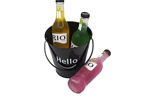 Collectible Ice Beer Bucket,Bar Barrels,Wine Coolers,Metal Decoration Pail 150x150mm (4 Pcs/Set) F0107