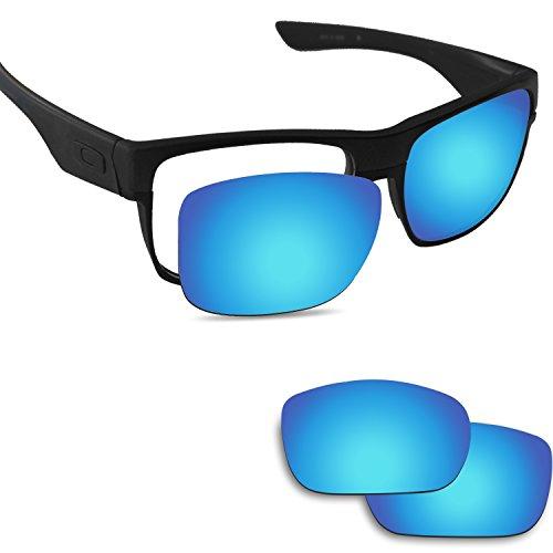 Fiskr Anti-saltwater Replacement Lenses for Oakley Twoface Sunglasses - Various - Sunglasses Salt Aviator