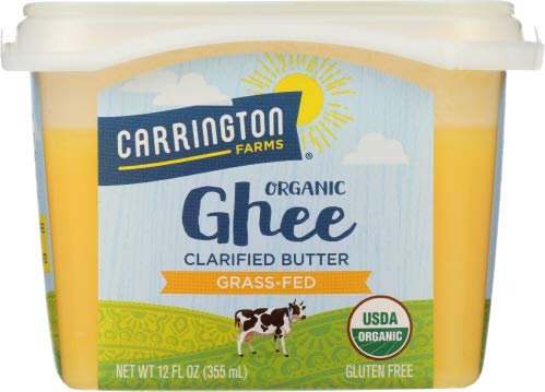 Carrington Farms Ghee Clarified Butter 12 OZ (Pack of 6) by Carrington Farms (Image #1)