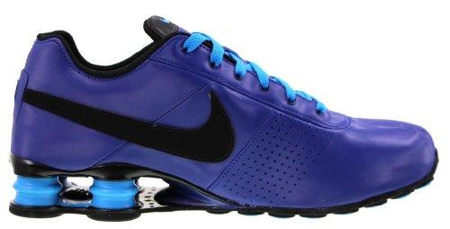 Nike Shox Livrer Chaussures De Course Baskets-deep Blue Royal / Noir / Lueur-11.5