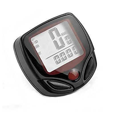 Ezyoutdoor Bike Computer Waterproof Leisure 14 Functions LCD Display MTB Bicycle Computers Cycling Odometer Sports Speedometer