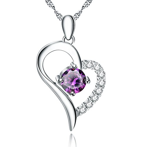 YFN Jewelry 925 Sterling Silver Love Heart Pend...