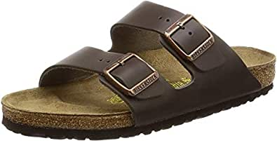 Birkenstock Unisex Adults' Arizona Sandals, Blue, 46 EU