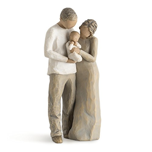 - Willow Tree We are Three, sculpted hand-painted figure