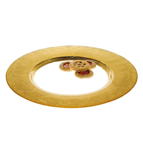 Gold Leaf Charger (Badash D244G 13