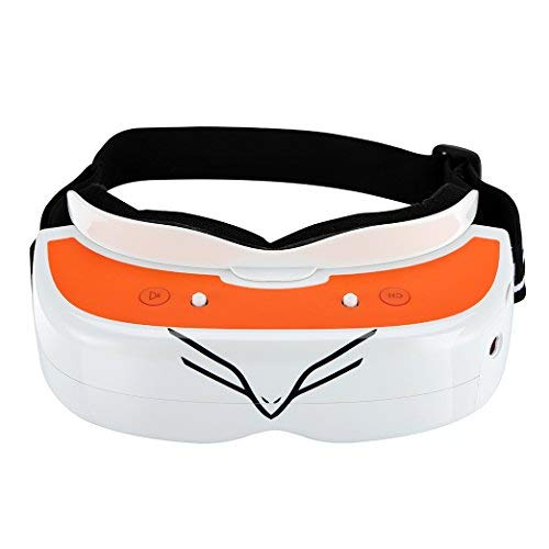 Amazon.com: FPV Goggles for Drone Racing 40CH 5.8 GHz FPV Racing Video Glasses Flysight New Version FG02 with DVR and Custom Receive Module: Electronics