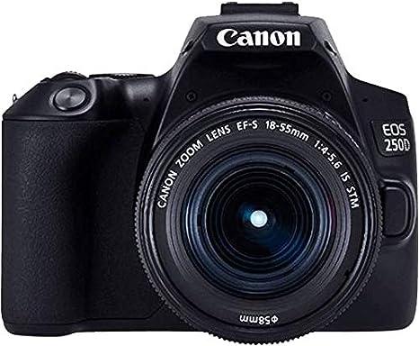 Canon EOS 250D - Cámara Digital (24,1 MP, 6000 x 4000 Pixeles ...