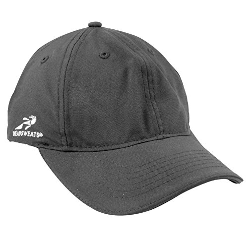 Headsweats Podium Hat, Black, One Size Fits All (Headsweats Black Hat)