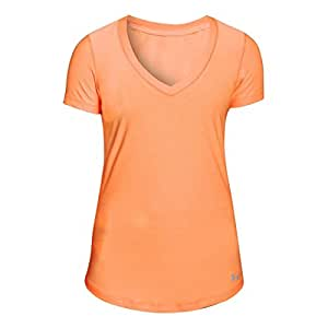Under Armour Women's UA Perfect Pace T-Shirt X-Small Afterglow