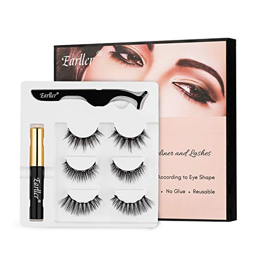 EARLLER Magnetic Eyelashes with