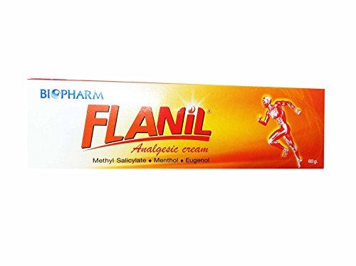 6 Packs of Flanil Analgesic Cream (60 G/pack)