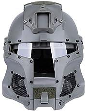 ANNA SHOP Tactische helm, snel demonteren en combineren helmen voor Airsoft Paintball Nerf-gevecht CS schietspie