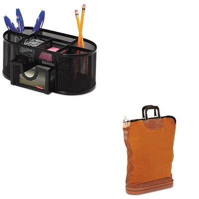 KITPMC04645ROL1746466 - Value Kit - Pm Company Regulation Post Office Security Mail Bag (PMC04645) and Rolodex Mesh Pencil Cup Organizer (ROL1746466) ()