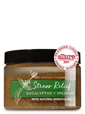Bath & Body Works AROMATHERAPY Stress Relief Eucalyptus Spearmint Sugar Scrub 13 Fl Oz by Bath & Body Works