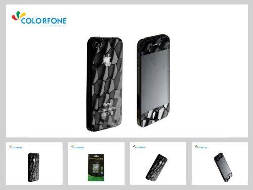qualità salvaschermo protezione libera dello schermo 3D acqua cubo di Apple iPhone 4 4S alta 3,5 cubo dacqua anti-riflesso