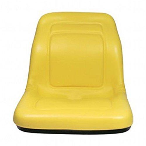 """Two (2) New John Deere Yellow Gator Seats 18"""" 4x4 4x2 4x6 Turf Utility Seat YLW"""
